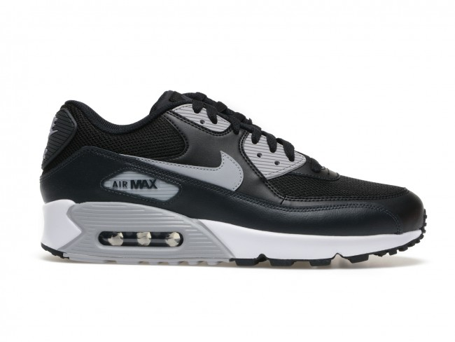 new arrival 7fc07 e4c37 Pantofi NIKE Air Max 90 Essential negri, din material textil si piele  naturala   TEZYO.ro