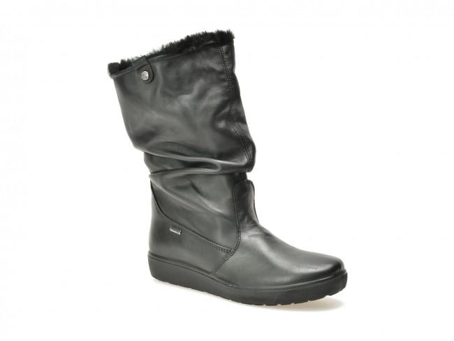 priza de fabrica imagini detaliate proaspăt confortabil Cizme IMAC negre, 80580, din piele naturala | TEZYO.ro