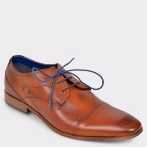 Pantofi BUGATTI maro, 10112, din piele naturala