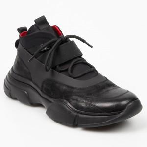 Pantofi GRYXX negri, K03A908, din piele naturala