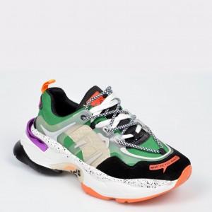 Pantofi sport GRYXX multicolori, N99189, din material textil si piele naturala