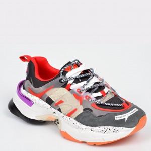 Pantofi sport GRYXX gri, N99189, din piele naturala
