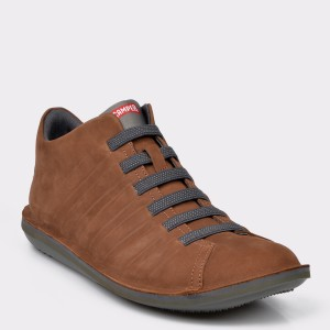 Pantofi CAMPER maro, 36678, din nabuc