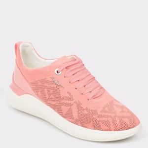 Pantofi Sport Geox Corai, D828sc, Din Piele Intoarsa
