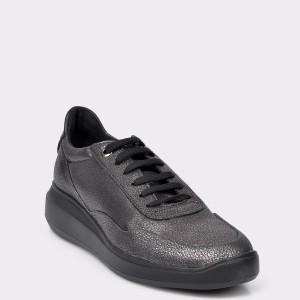 Pantofi sport GEOX gri, D84APA, din piele naturala