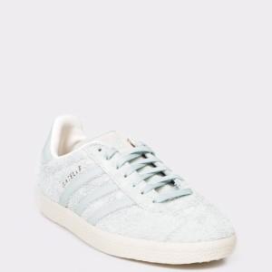Pantofi sport ADIDAS verzi, EE5548, din piele intoarsa