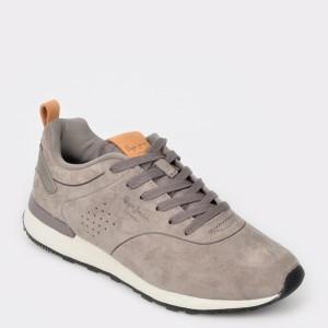 Pantofi sport PEPE JEANS gri, Ms30520, din piele naturala