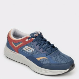 Pantofi sport SKECHERS bleumarin, 52968, din material textil