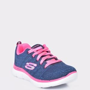 Pantofi sport SKECHERS bleumarin, 81655L, din material textil