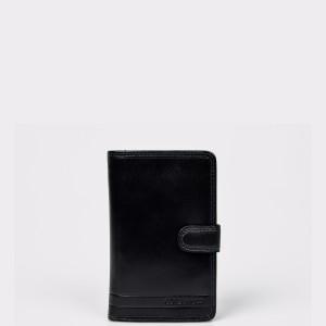 Portofel EPICA negru, 9870, din piele naturala