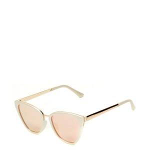 Ochelari de soare ALDO albi, Delna102, din PVC