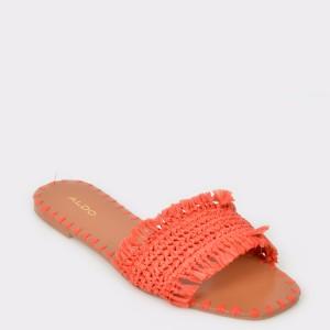 Papuci ALDO portocalii, YBAOLLA, din PVC