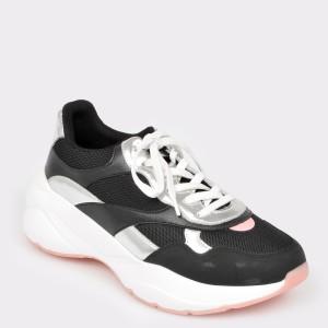 Pantofi sport ALDO negri, Merurka, din piele ecologica