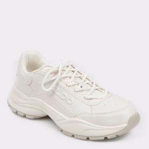 Pantofi sport ALDO albi, TAERWEN, din piele ecologica