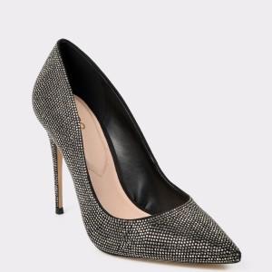 Pantofi ALDO negri, Kedaovia, din material textil