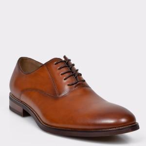 Pantofi ALDO maro, Eloie, din piele naturala