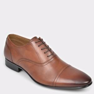 Pantofi ALDO maro, Nalessi, din piele naturala