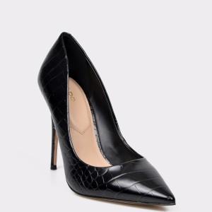 Pantofi ALDO negri, Stessy, din piele ecologica