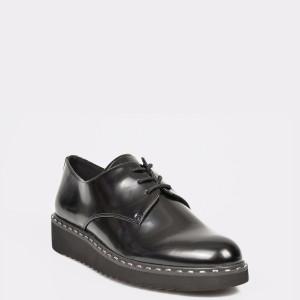 Pantofi ALDO negri, Elryclya, din piele ecologica
