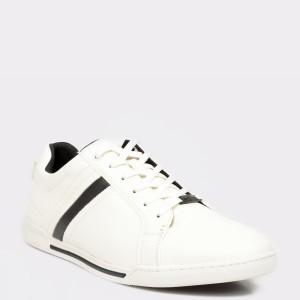Pantofi sport ALDO albi, Shoopman, din piele ecologica - od9s13111b12654934 diagonala simpla fundal gri - Pantofi sport ALDO albi, Shoopman, din piele ecologica