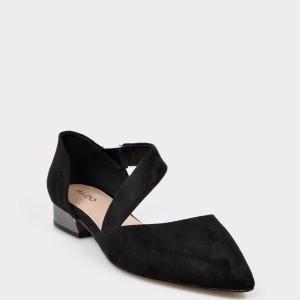 Pantofi ALDO negri, Abovia, din piele ecologica