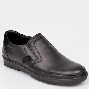 Pantofi OTTER negri, T9, din piele naturala