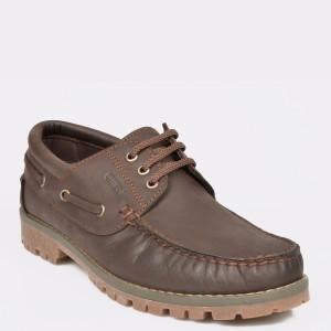 Pantofi OTTER maro, 2913, din piele naturala