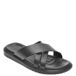 Papuci OTTER negri, 205, din piele naturala