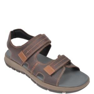 Sandale CLARKS maro, Brixby Shore, din piele naturala
