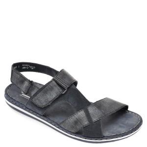 Sandale RIEKER bleumarin, 21070, din piele naturala