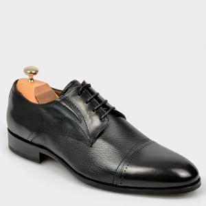 Pantofi LE COLONEL negri, 50904, din piele naturala