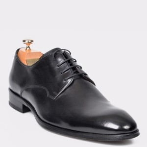 Pantofi LE COLONEL negri, 32765, din piele naturala