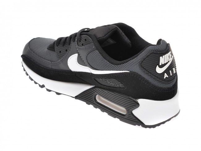 Escrupuloso Sin personal inteligencia  Pantofi sport NIKE negri, Air Max 90, din material | TEZYO.ro