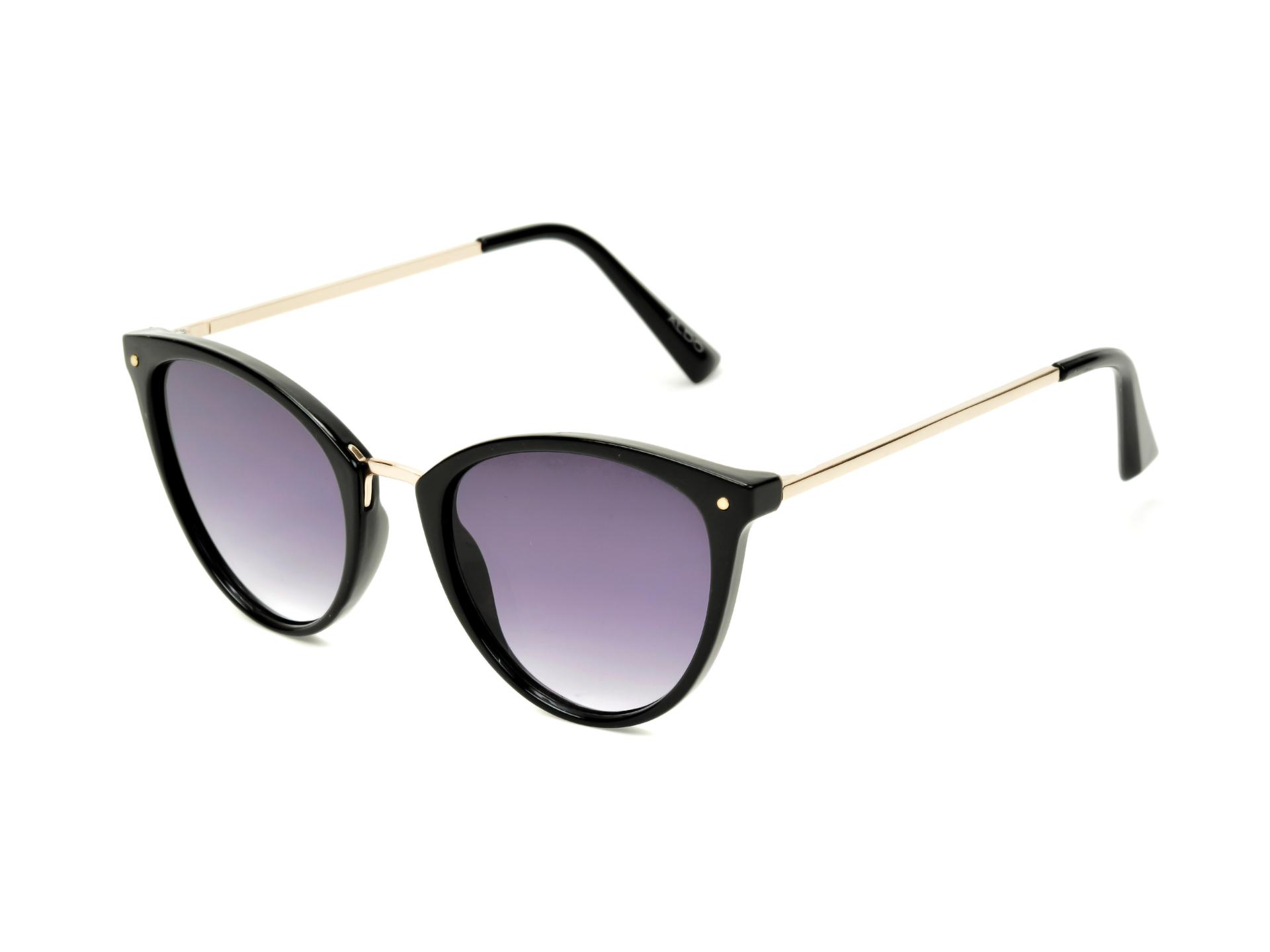 Ochelari de soare ALDO negri, Lunga970, din PVC imagine