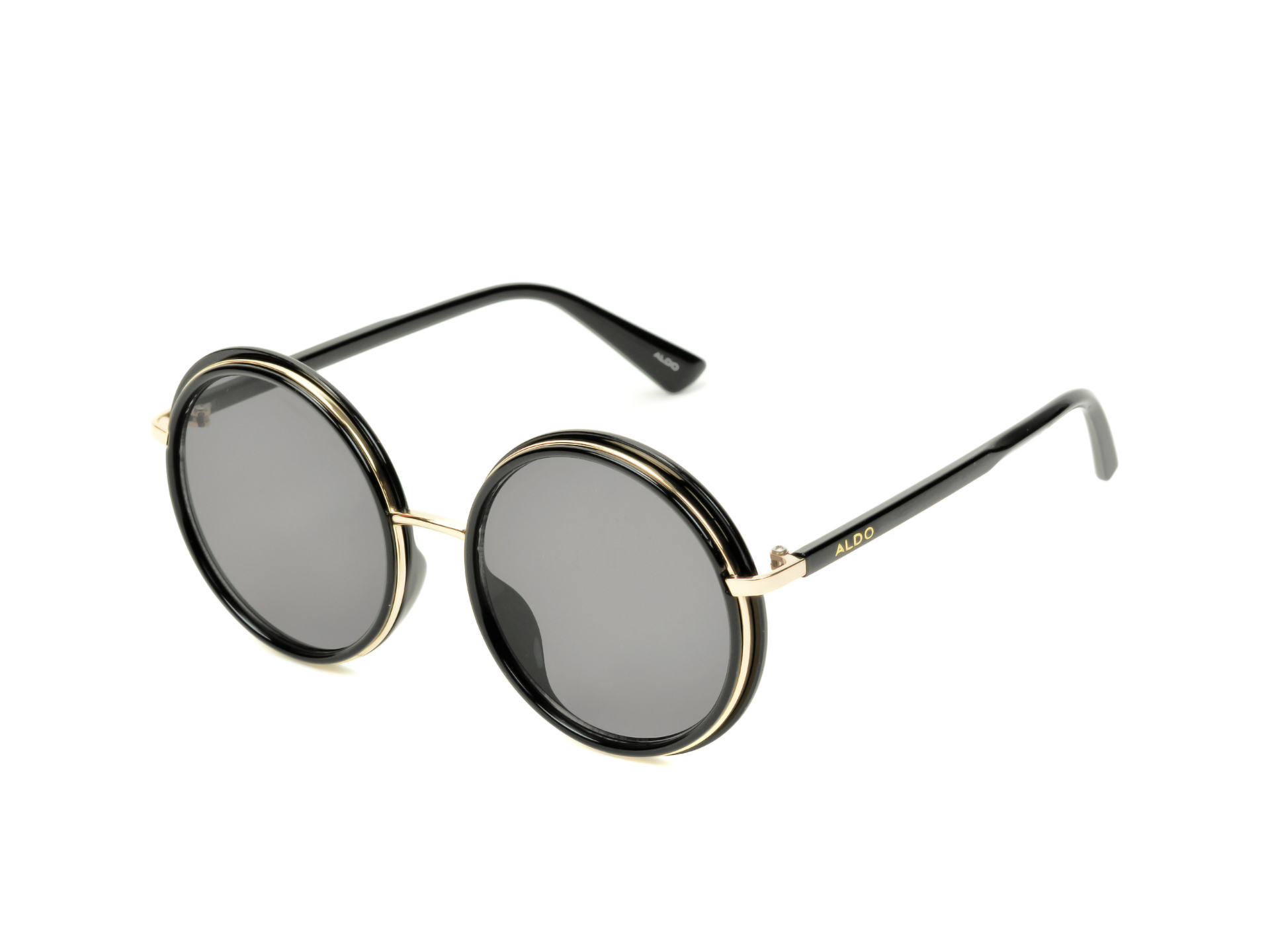 Ochelari de soare ALDO negri, Taipas970, din PVC imagine