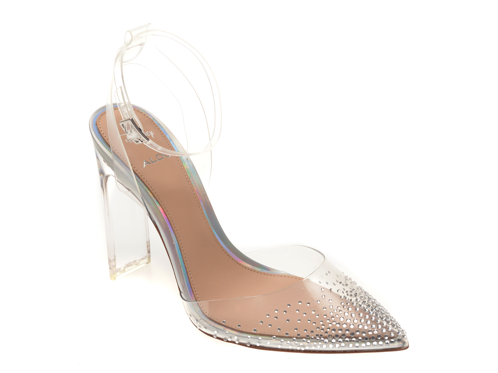Pantofi ALDO, Glassslipper103, din PVC imagine
