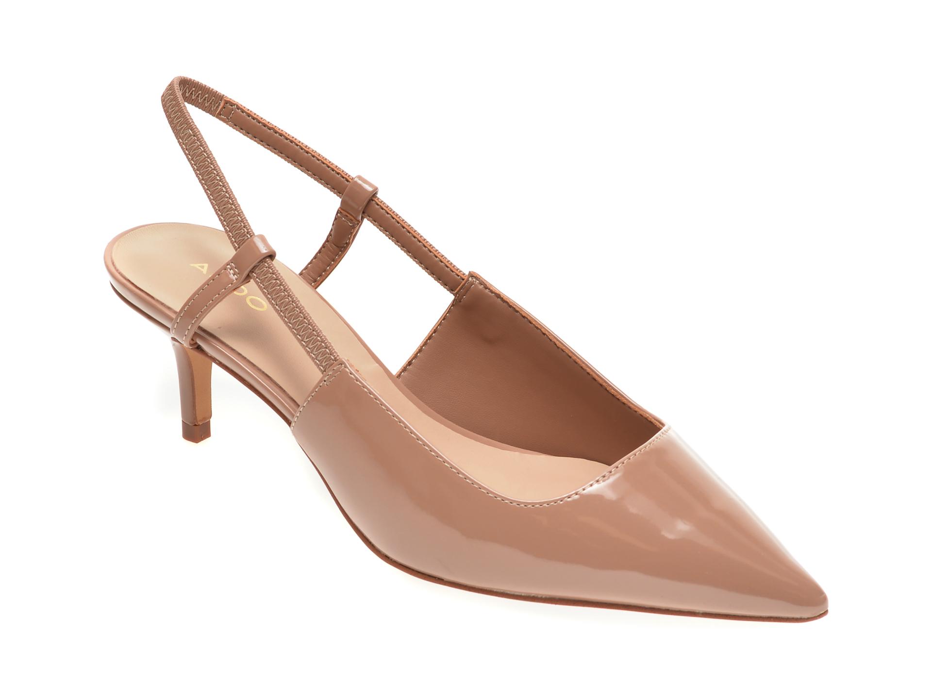 Pantofi Aldo Nude, Melica270, Din Piele Ecologica