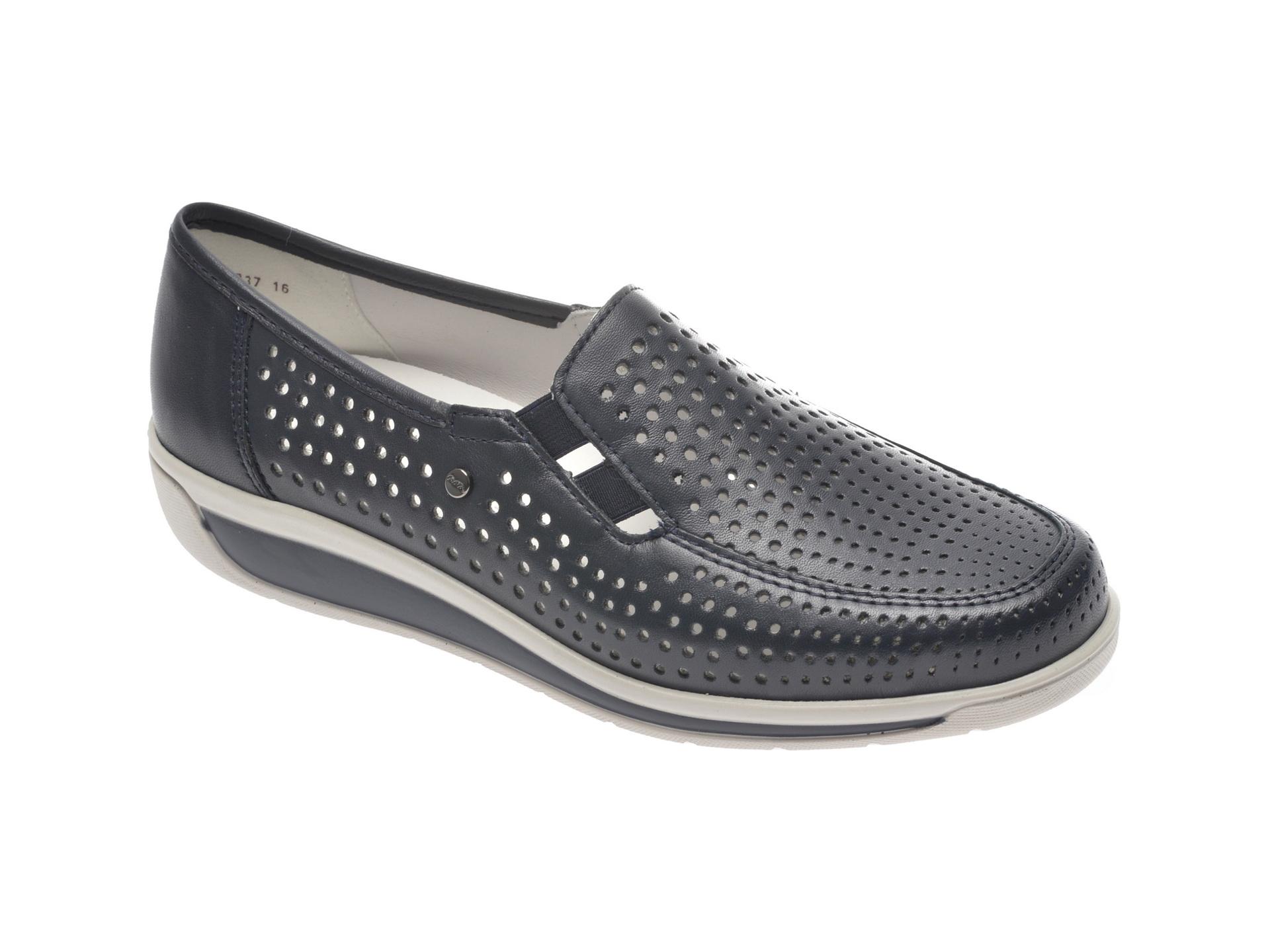 Pantofi Ara Bleumarin, 36337, Din Piele Naturala