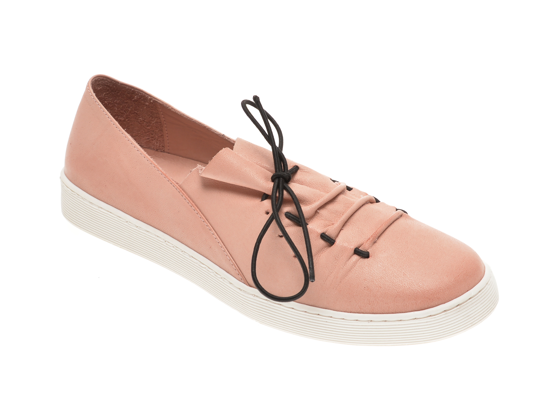 Pantofi BABOOS roz, R09, din piele naturala imagine