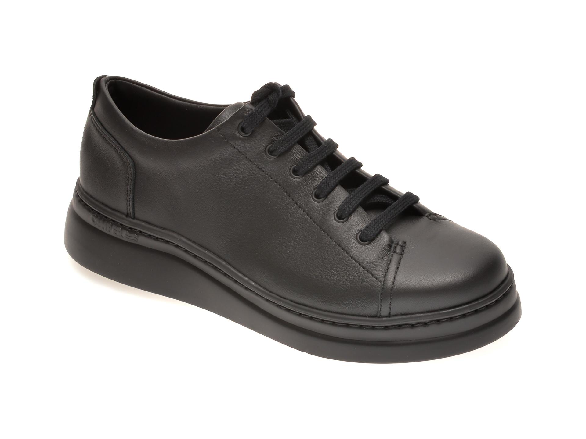 Pantofi CAMPER negri, K200508, din piele naturala
