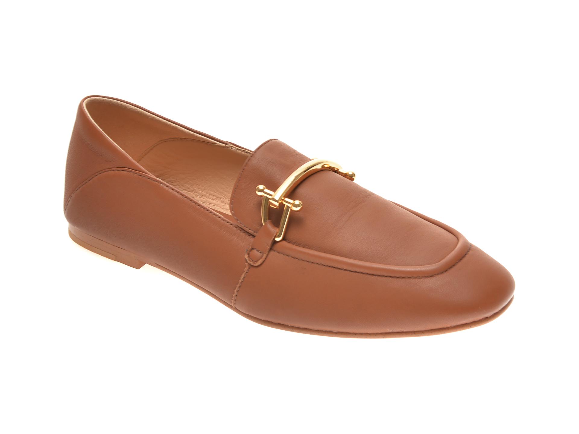 Pantofi CLARKS maro, SHEER ROSE 2, din piele naturala