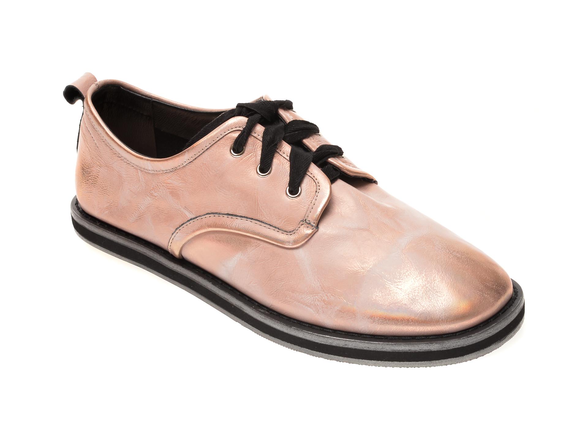 Pantofi EPICA nude, AH025M1, din piele naturala