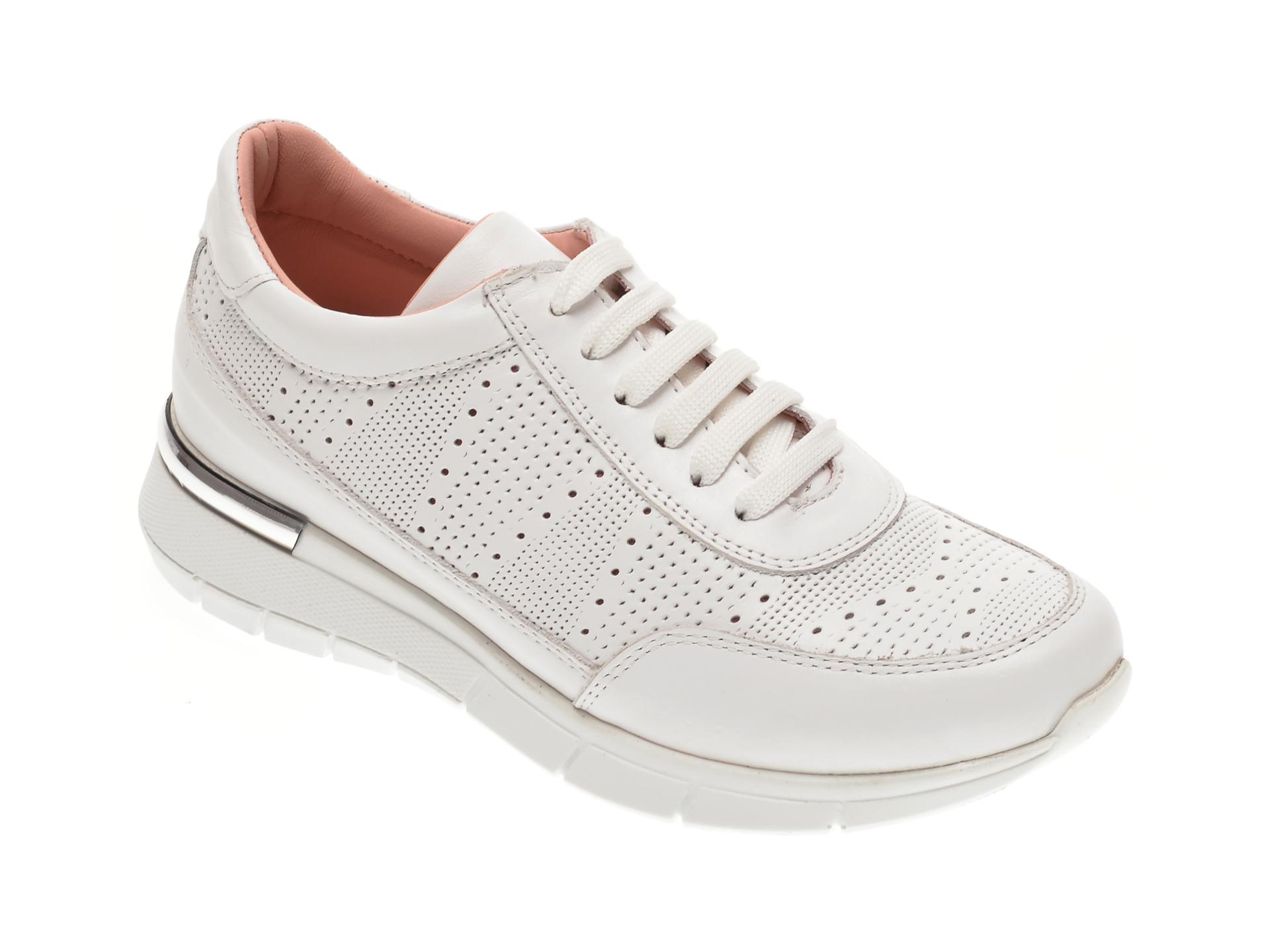 Pantofi FLAVIA PASSINI albi, 1251277, din piele naturala imagine