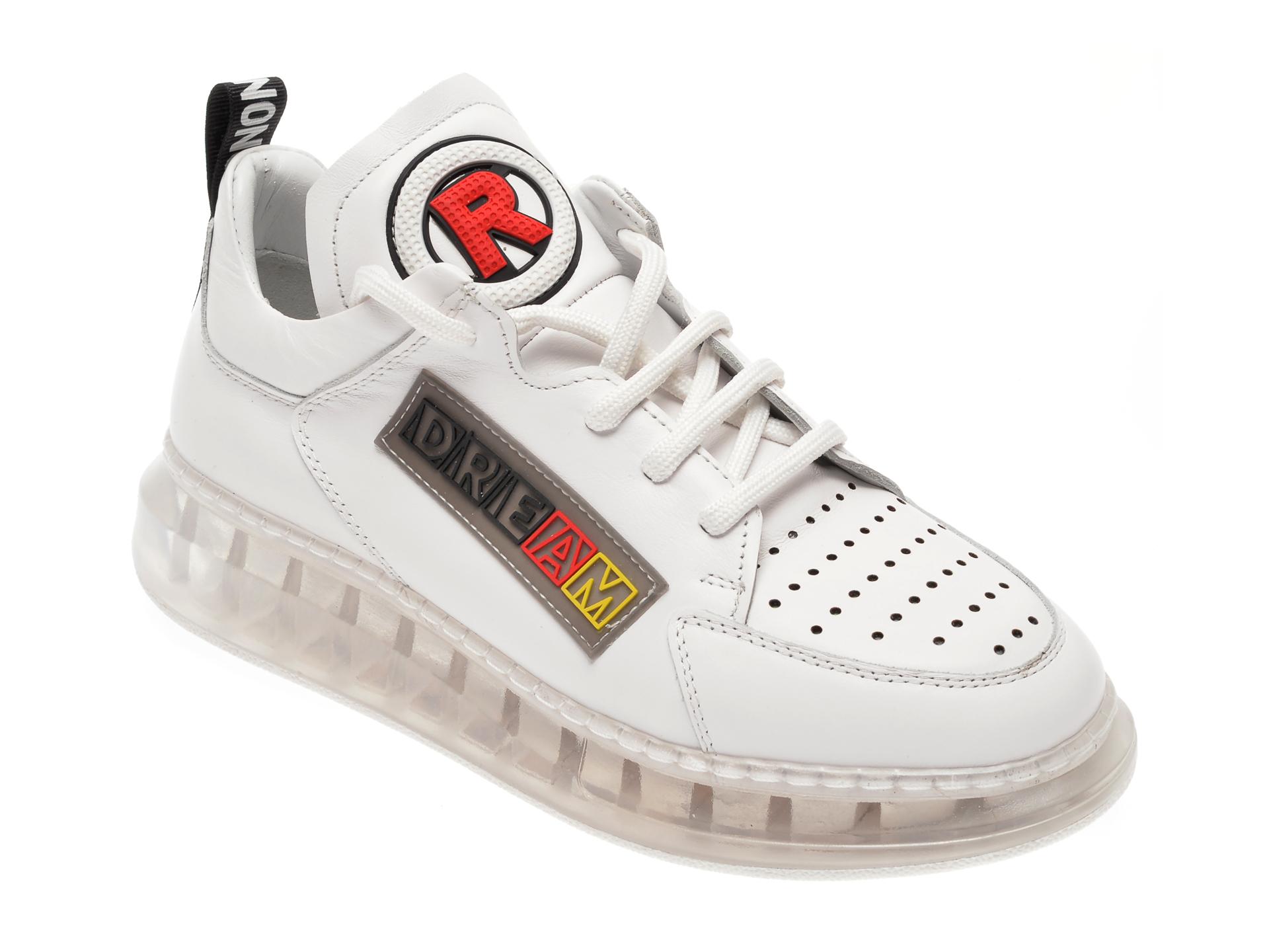Pantofi FLAVIA PASSINI albi, 7612750, din piele naturala imagine