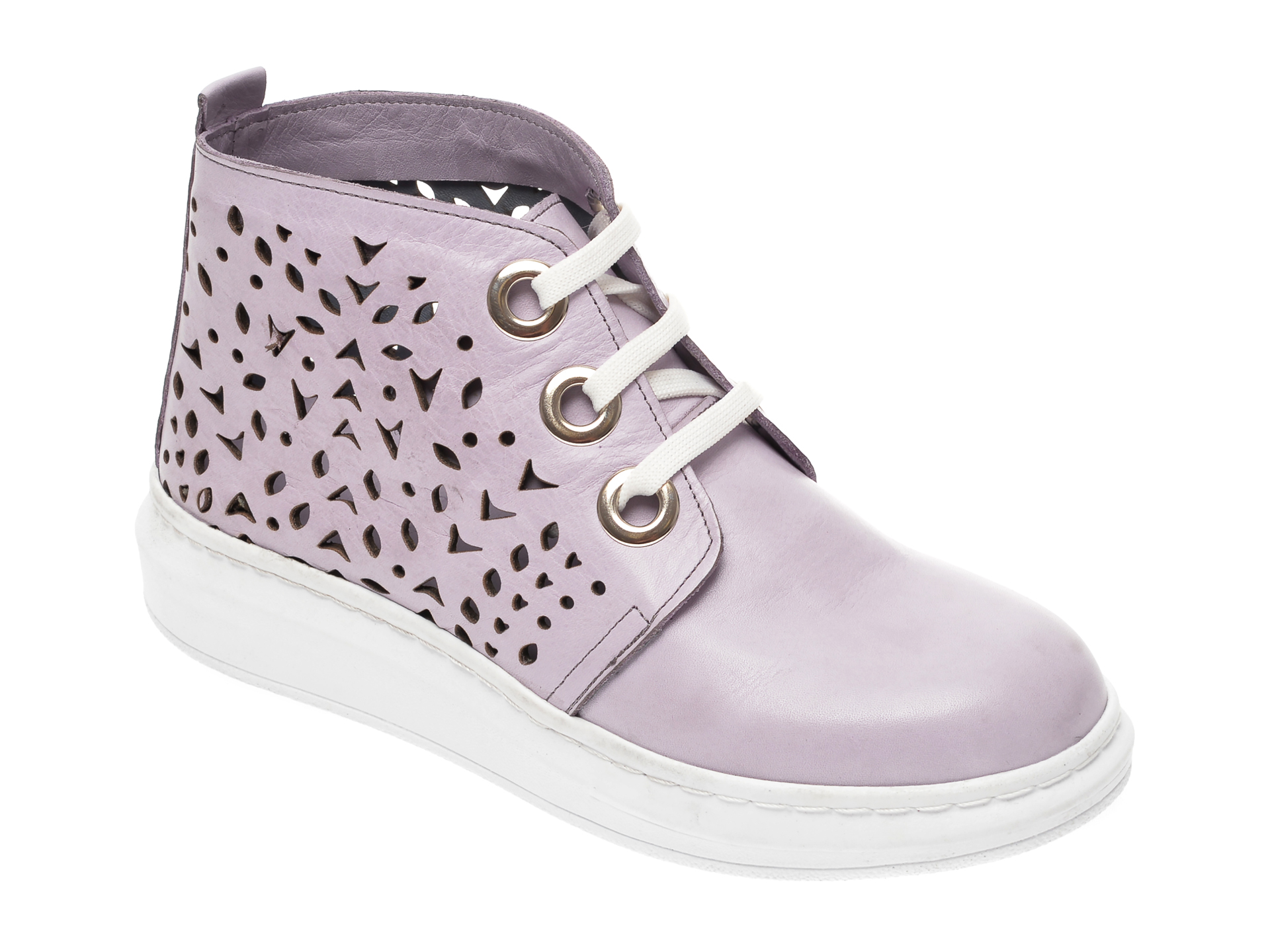 Pantofi FLAVIA PASSINI mov, 2206, din piele naturala imagine