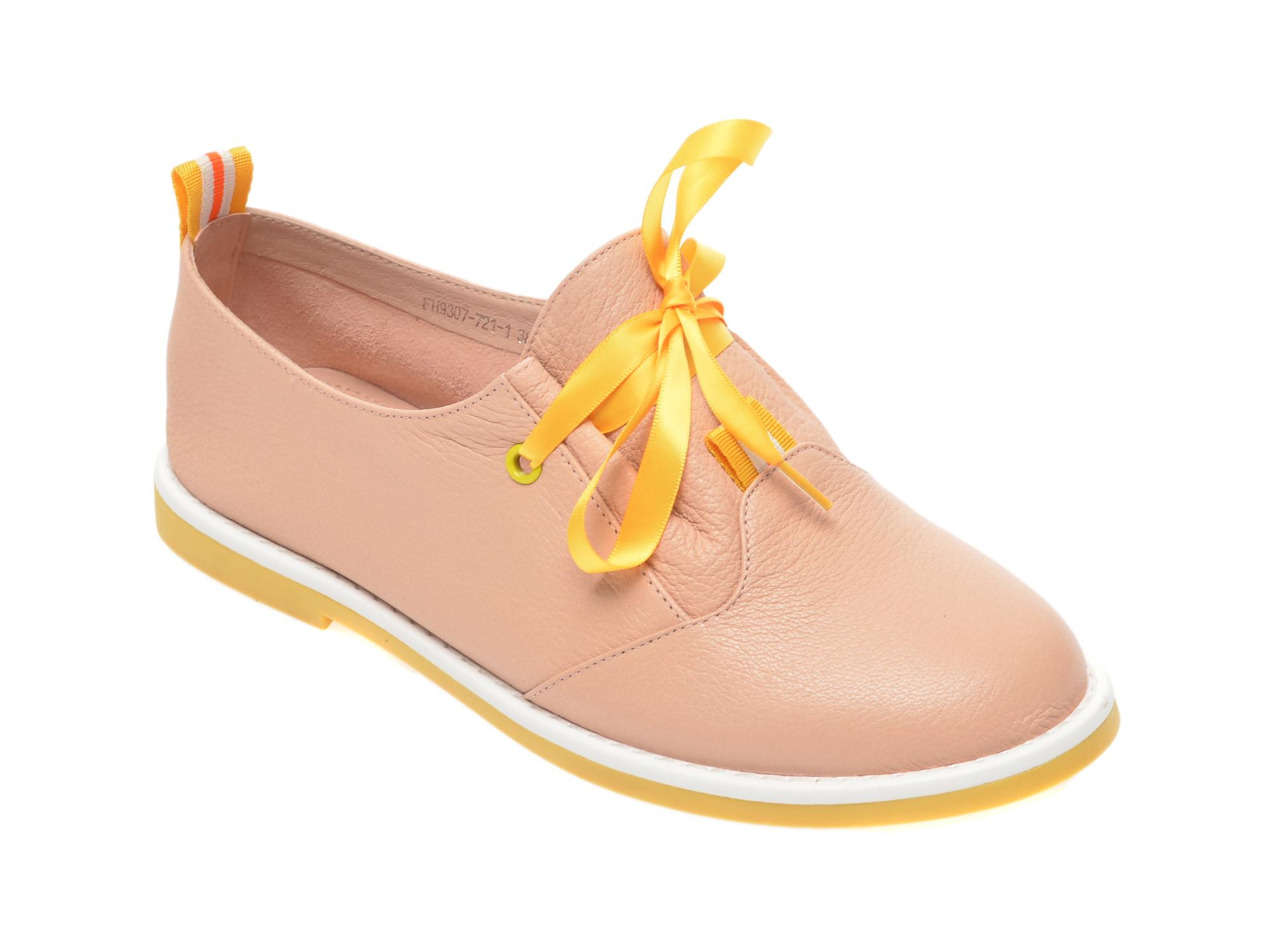 Pantofi FLAVIA PASSINI nude, FH93077, din piele naturala