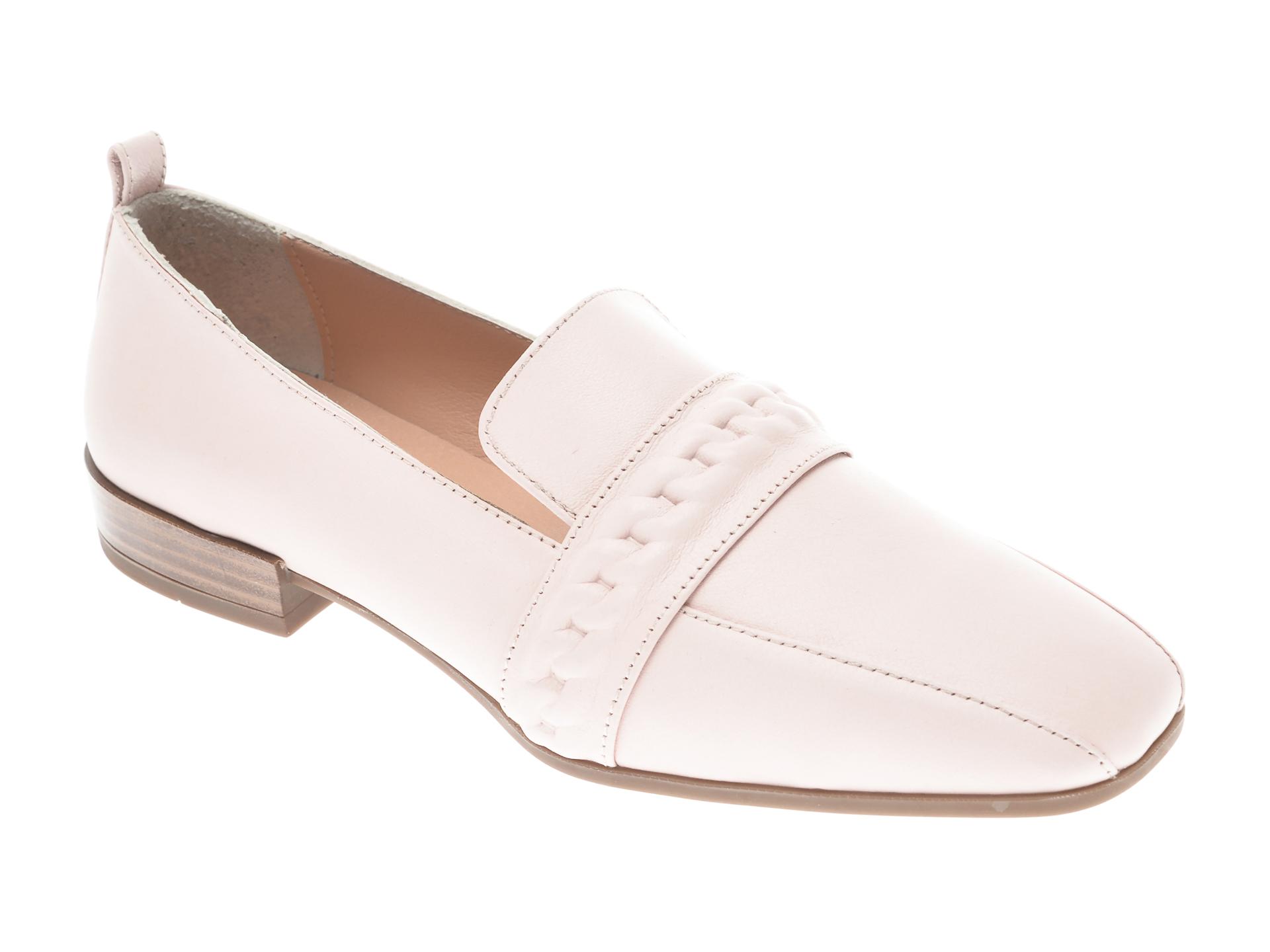 Pantofi Flavia Passini Roz, 22020, Din Piele Naturala