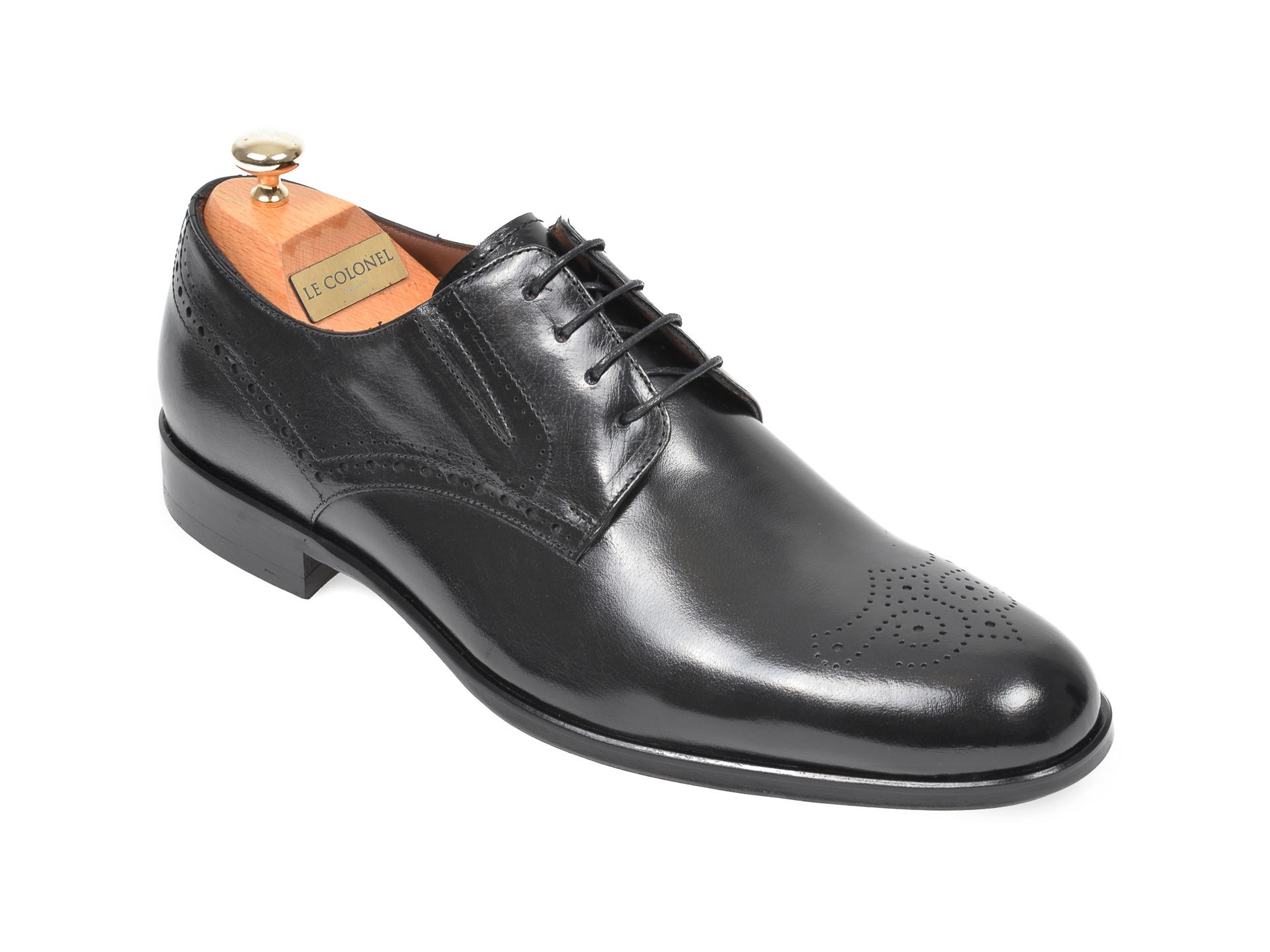 Pantofi Le Colonel Negri, 62401, Din Piele Naturala