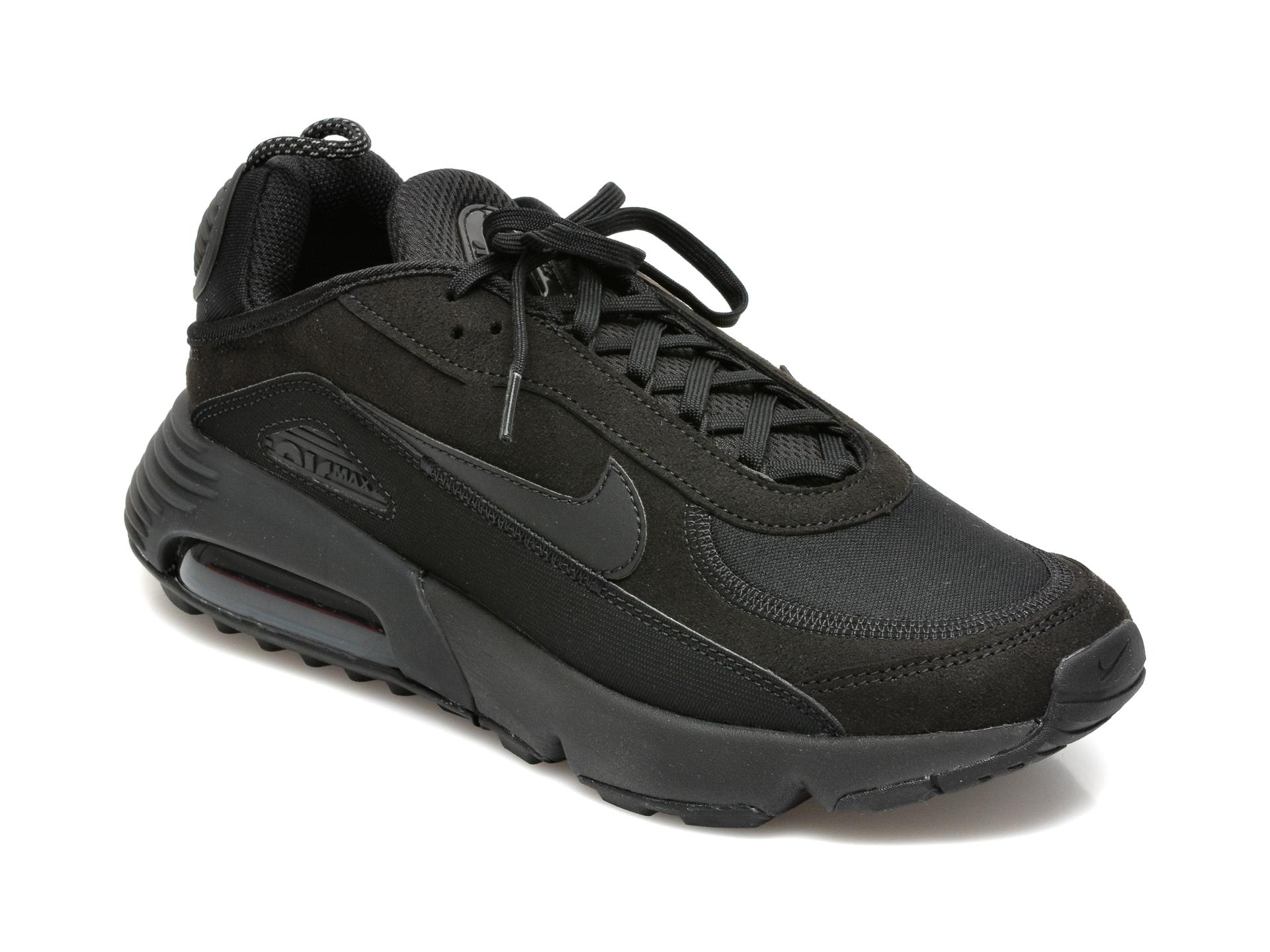 Pantofi NIKE negri, NIKE AIR MAX 2090 C/S, din material textil