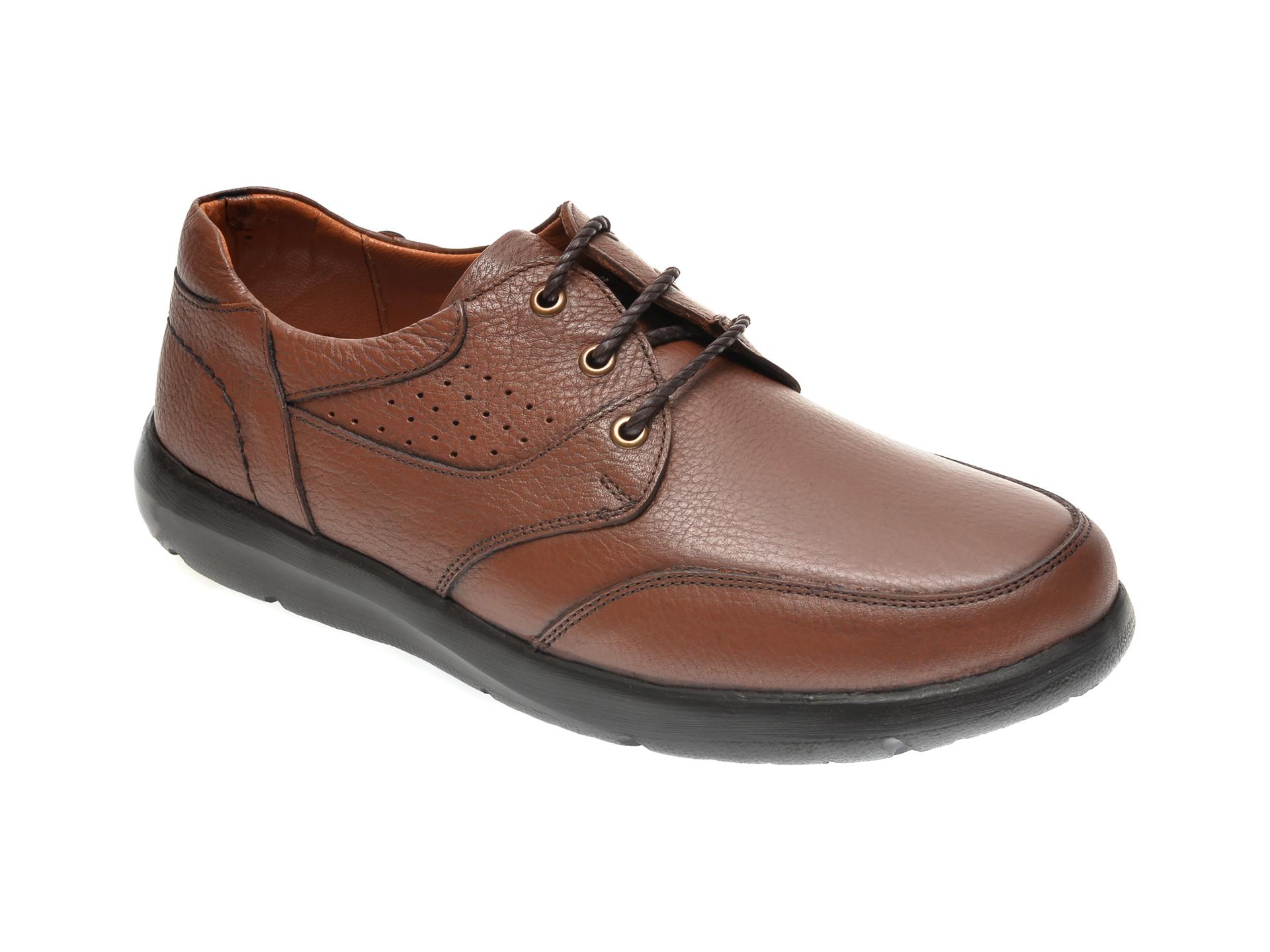 Pantofi Otter Maro, 20n905, Din Piele Naturala
